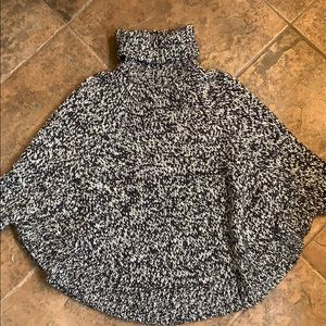 Michael Kors wool poncho sweater